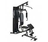 Lifeline Home Gym DLX With Preacher Curl Bench HG 005